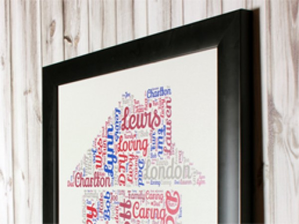 Framed Wordart