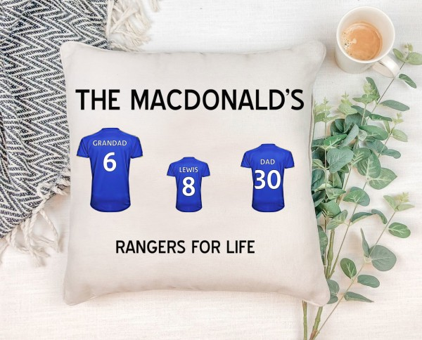 Football Shirt Cushion