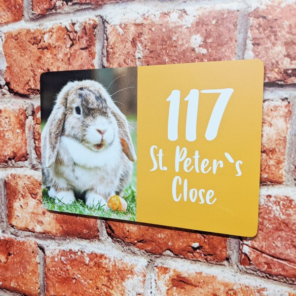 Aluminium Pet House Signs