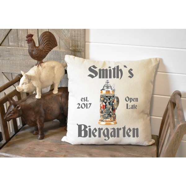 Luxury linen pub cover - Biergarten
