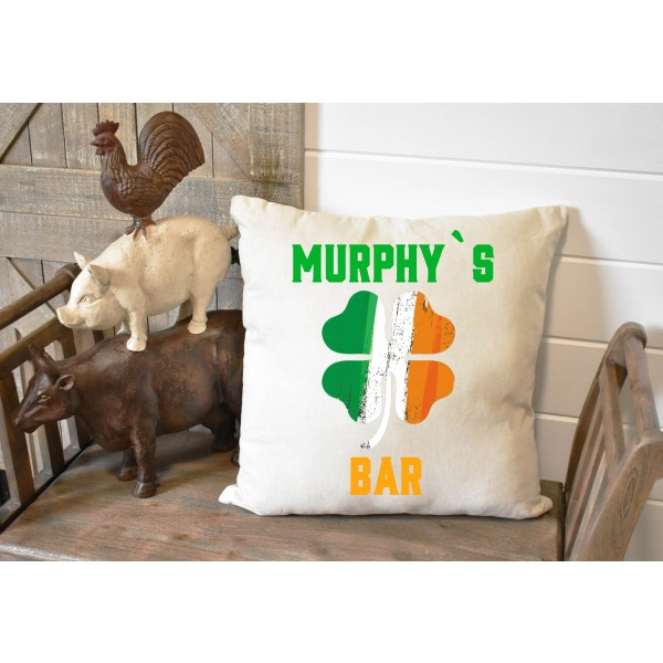 Luxury linen pub cover - Irish Bar
