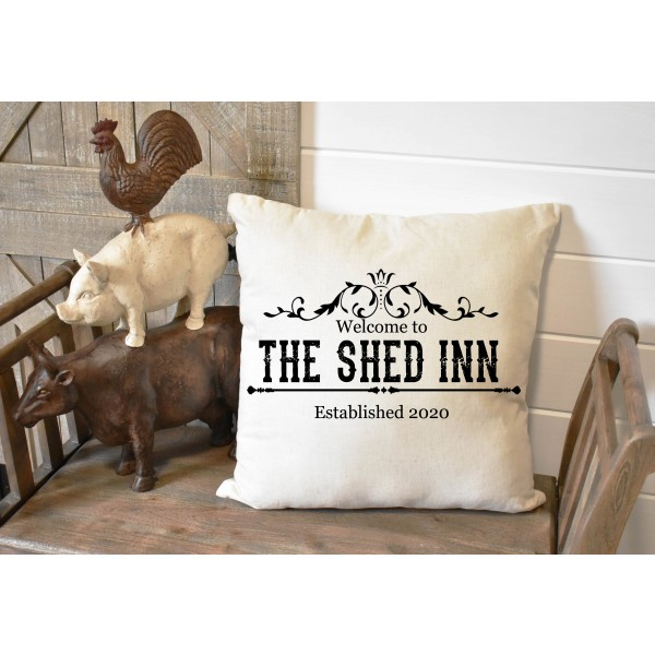 Luxury linen pub cover - Shed Inn