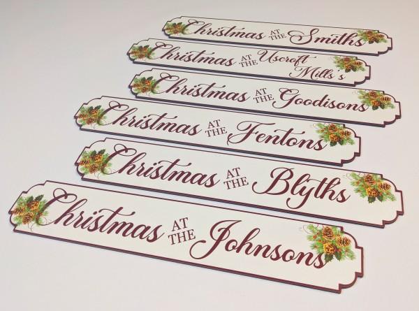 Christmas Vintage Sign