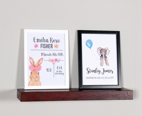 Framed Nursery Print