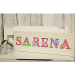 Panoramic Letter Canvas