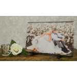 Your Image On Natural Slate