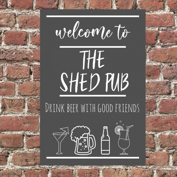 The Shed Pub Sign