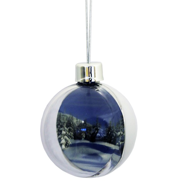Antique Bauble Ice White