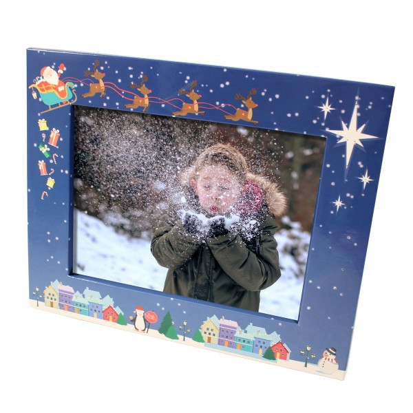 Santa Light Up Frame