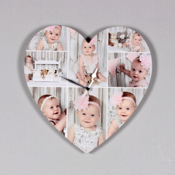 Personalised Photo Clocks