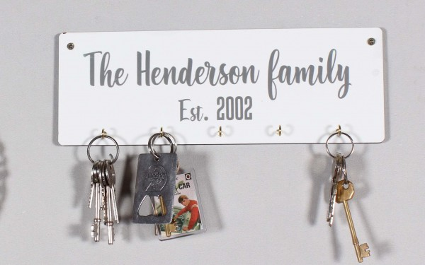 Text Key Holder