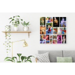 Shape Collage Canvas