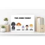 Starwars Family Canvas