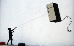 Fridge-kite