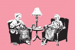 Knitting-grannies