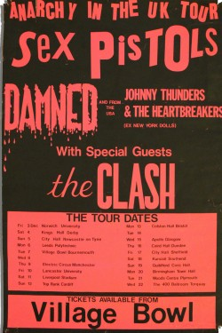 Sex pistols and The Clash