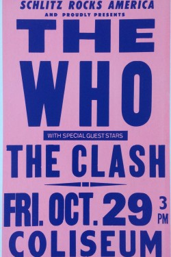 The Who and The Clash